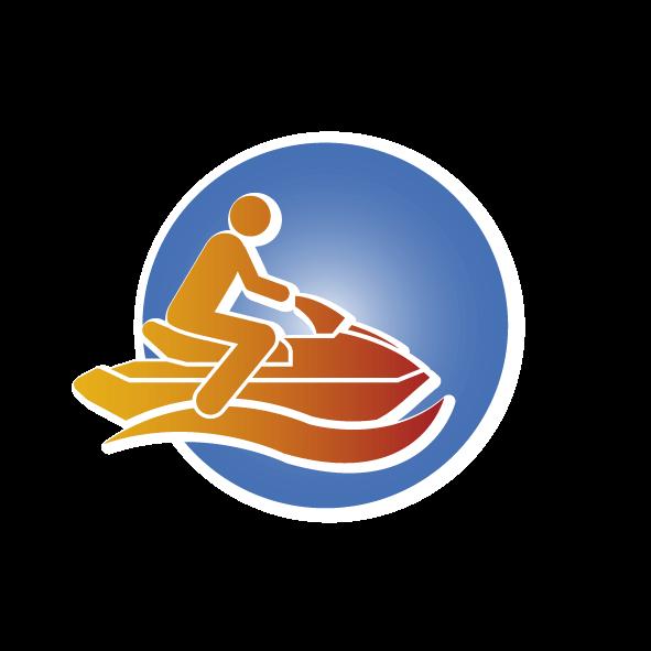 Jetski fahren bei Wassersport X-treme in der Eckernförder Bucht an der Ostsee