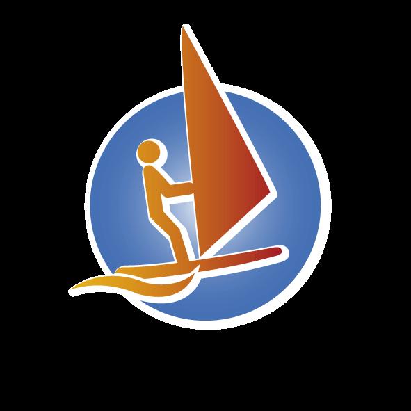 Windsurfen bei Wassersport X-treme in der Eckernförder Bucht an der Ostsee